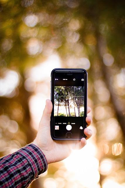 Hand, Camera, Iphone, Smartphone, Taking Photo