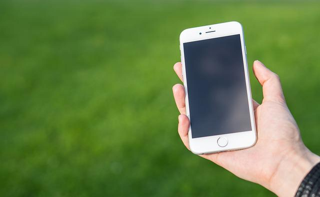 Smartphone, White, Iphone, Technology, Display