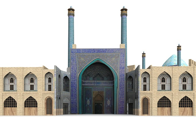 King Mosque, Isfahan, Iran, Building