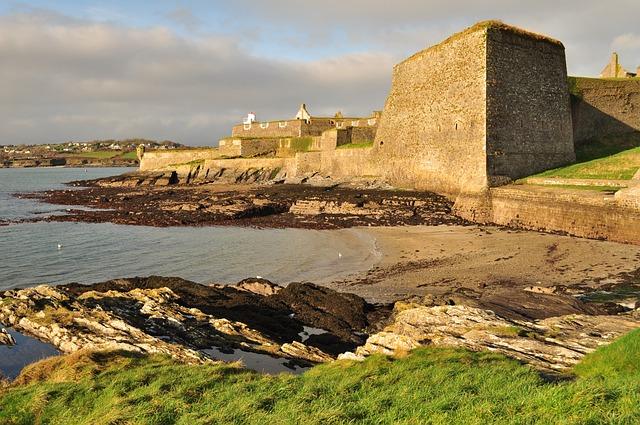 Ireland, Sea, Holidays, Castle, Coast
