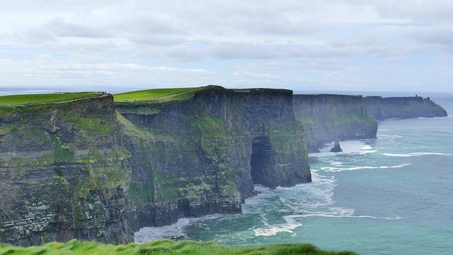 Cliffs Of Moher, Ireland, Landscape