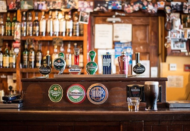 Bar, Local, Cong, Ireland, Irish Pub, Pub, Bottles