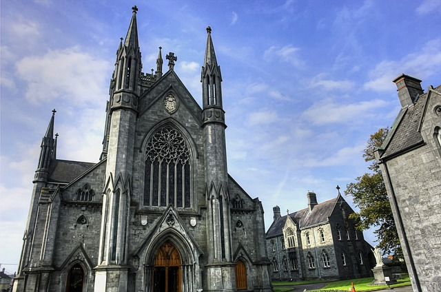 Abbey, Ireland, Church, Monastery, Religious, Irish