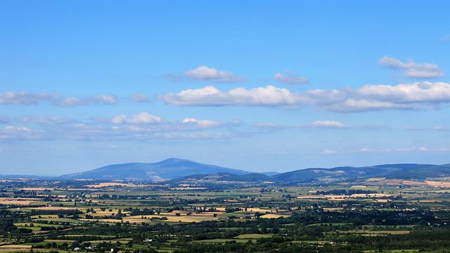 Ireland, The Vee, Landscape, Summer, Sky, Scenic