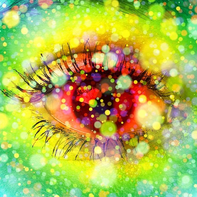 Eye, View, Bokeh, Iris, Close