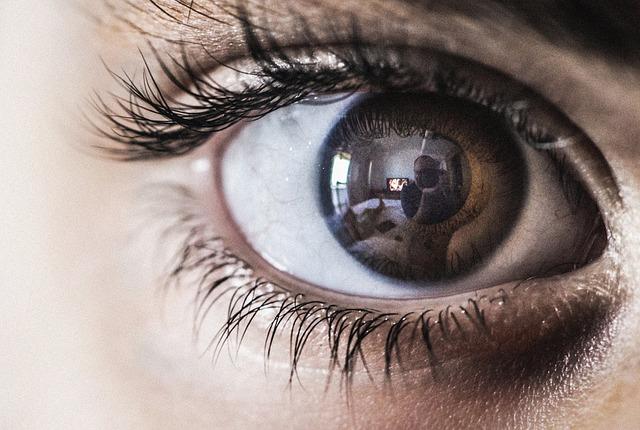 Eye, Macro, Reflex, Tv, Face, Iris, Eyeball, Young