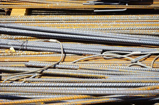 Iron Rods, Rods, Steel Bars, Construction Material