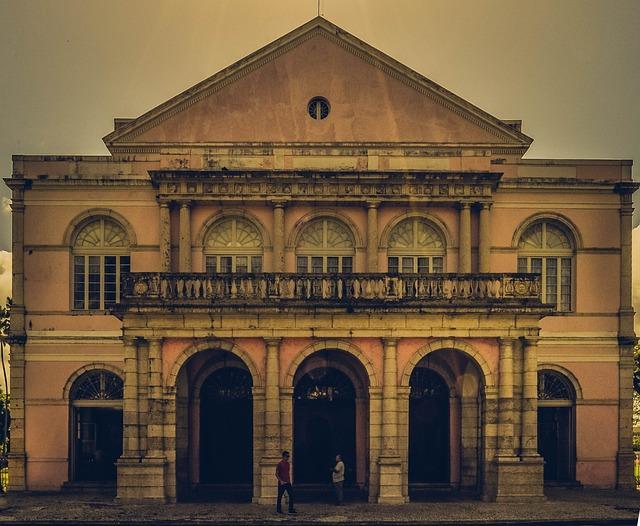 Theatre, Of, Santa, Isabel, Recife, Pernambuco