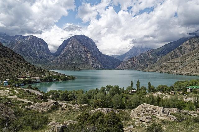 Tajikistan, Iskanderkul, Alex Andersee, Lake