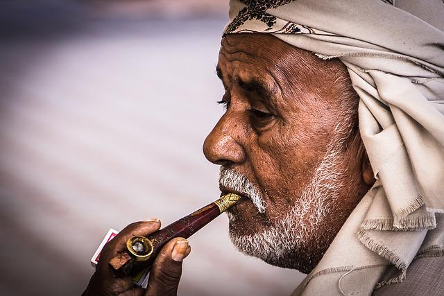 Arabs, Face, Orient, Arabic, Islam, Muslim, Smoking