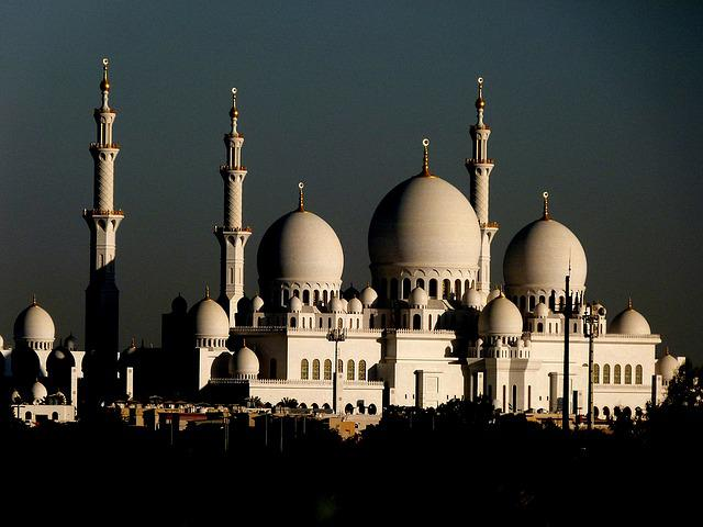 Abu Dhabi, Mosque, Islam, U A E, Sheikh Zayed Mosque