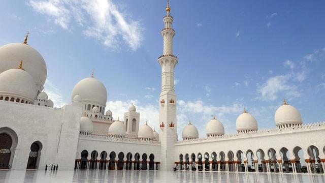 Abu Dhabi, Sheikh Zayed Mosque, Islamic Architecture