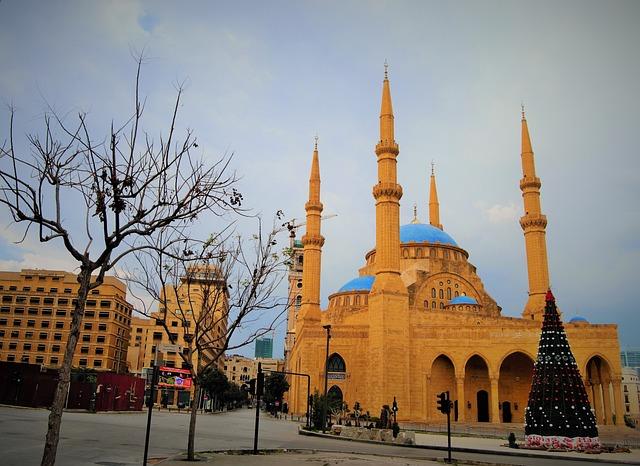 Mohammad Amin Mosque, Beirut, Mosque, Lebanon, Islamic
