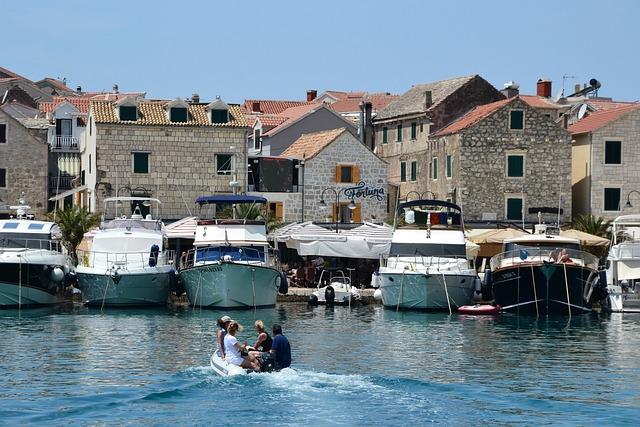 Primosten, Croatia, Port, Coast, Island, Adriatic Sea