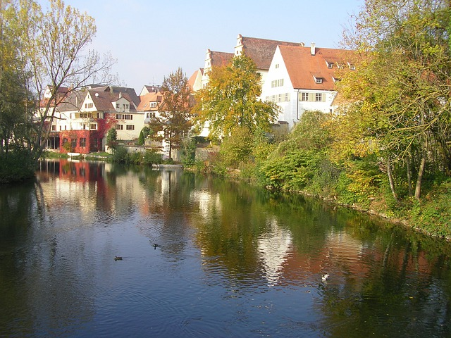 Munderkingen, Danube, Island Bath