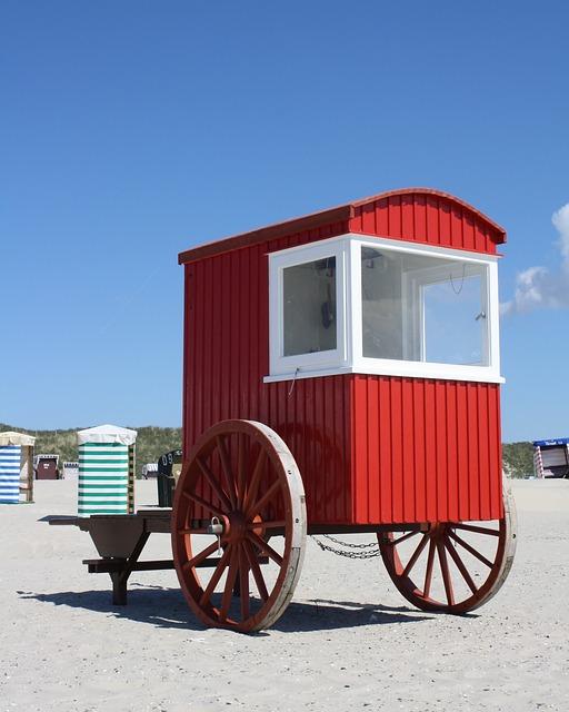 Beach, Vehicle, Island, Transport, Travel