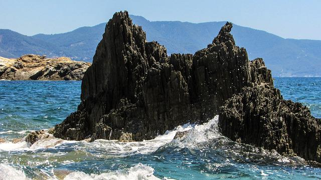Greece, Skiathos, Island, Beach, Rock, Sporades