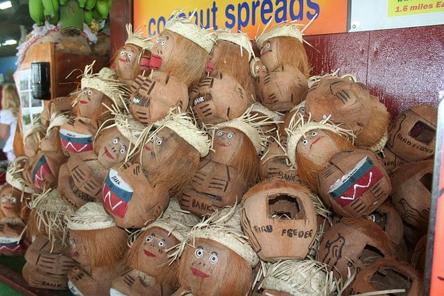 Coconut Heads, Hawaii, Coconut, Hawaiian, Head, Island
