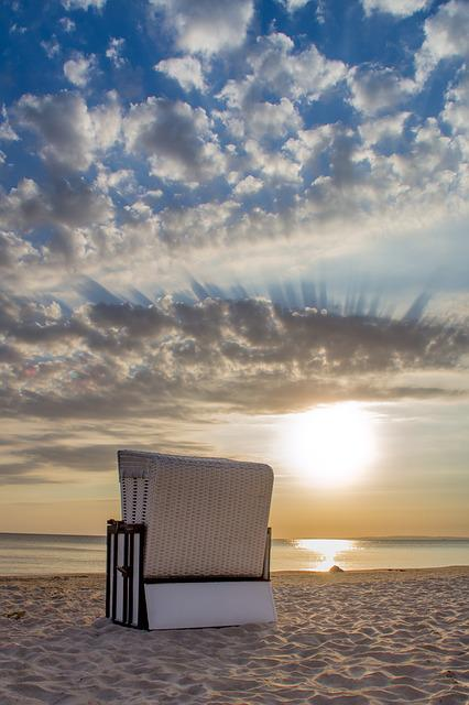 Beach Chair, Heringsdorf, Island, Usedom