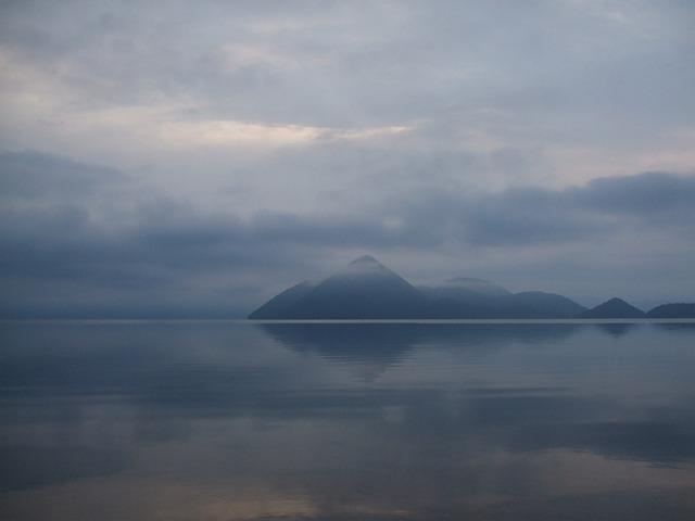 Lake, Lake Toya, Hokkaido, Japan, Island, Water