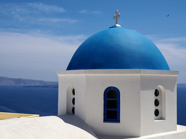 Santorini, Oia, Island, Greece, Caldera, Volcano, Light
