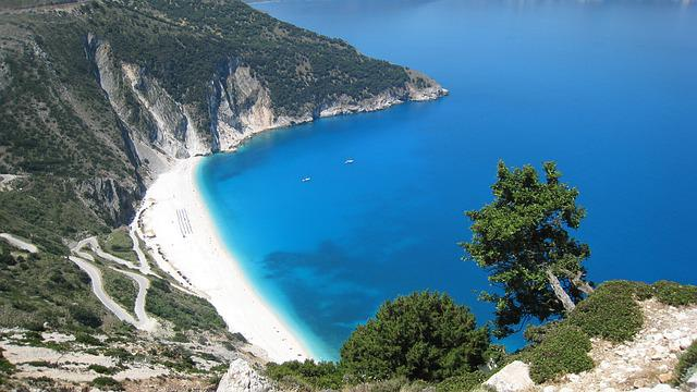 Beach, Greece, Island Of Kefalonia, Sea