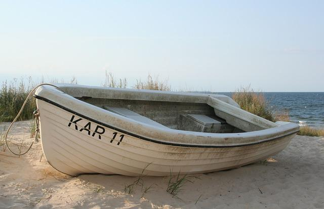 Baltic Sea, Sea, Boot, Beach, Sunset, Island Of Usedom