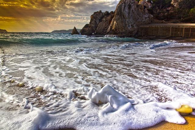 Sea, Mediterranean, Island, Sun And Sea, Beach, Coast