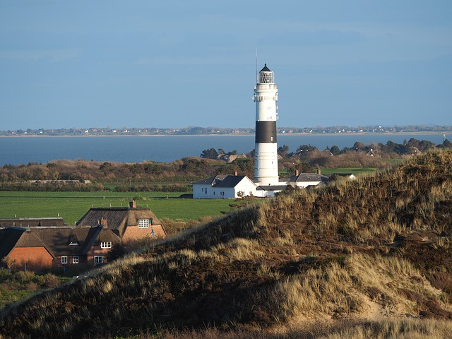 Lighthouse, Sylt, Northern Friesland, Island