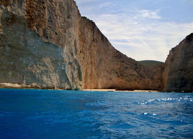 Zakynthos, Island, Greece, Beach, Rocks, Sea, Summer