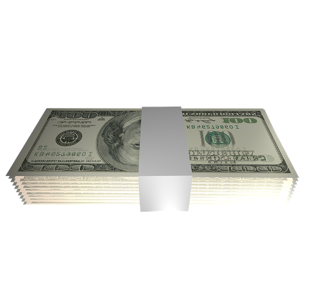 Dollar, Bundle, Banderole, Money, Currency, Isolated