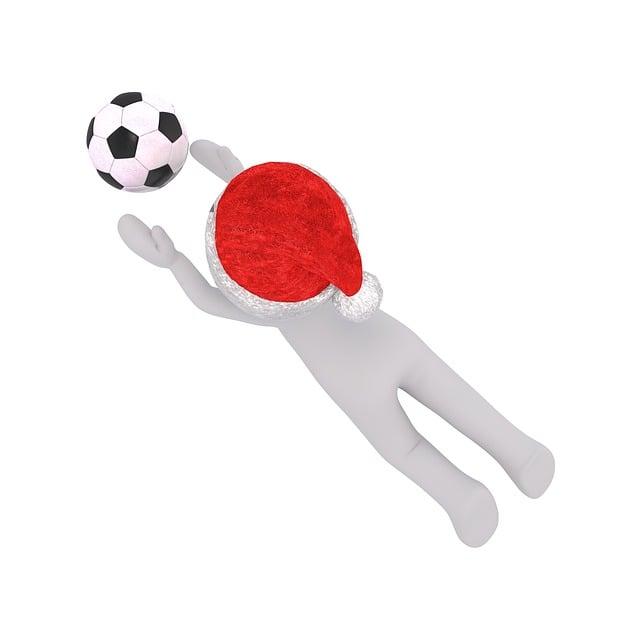 Footballers, Goalkeeper, White Male, 3d Model, Isolated