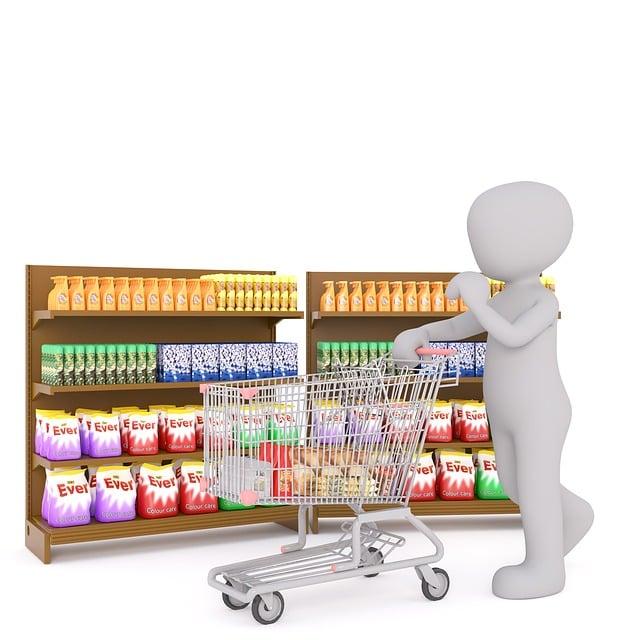 Shopping, White Male, 3d Model, Isolated, 3d, Model