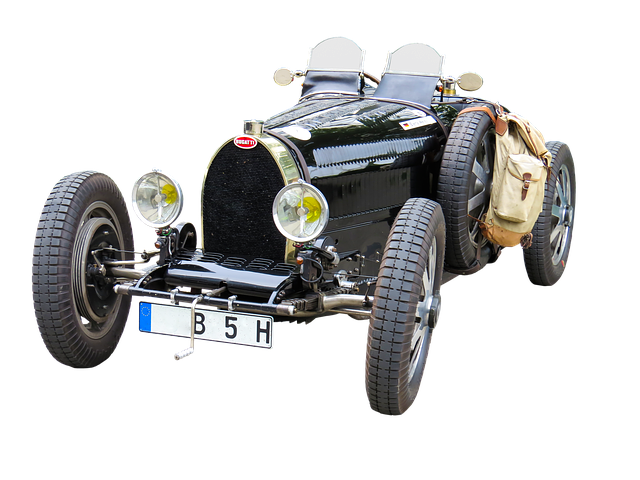 Oldtimer, Automotive, Bugatti, Png, Isolated, Classic