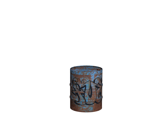 Ton, Barrel, Iron Barrel, Digital Art, Isolated, Png