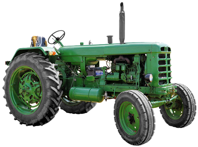 Isolated, Utb Tractor, Tug, Agricultural Machine