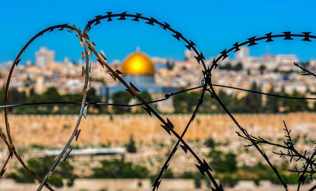 Barbed Wire, Jerusalem, Holy Land, Temple, Israel
