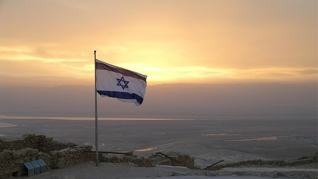 Flag, Israeli, Israel, Symbol, National, Middle East