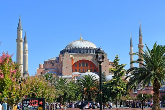 Hagia Sophia, Istanbul, Church, Turkey, Ayasofya