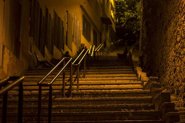 Istanbul, Night, Street, Deserted, Light