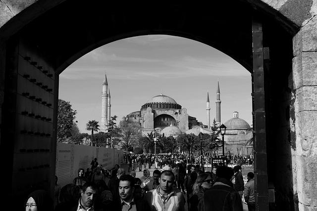 Hagia Sophia, The Door Then, Istanbul