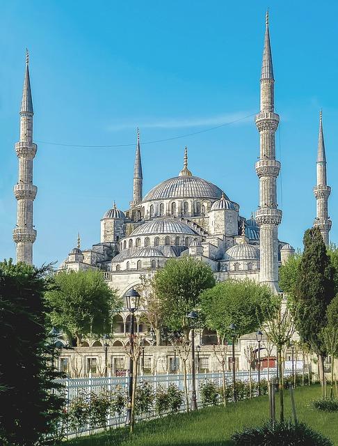 Istanbul, Turkey, Mosque, Turkish Mosque, Blue Mosque