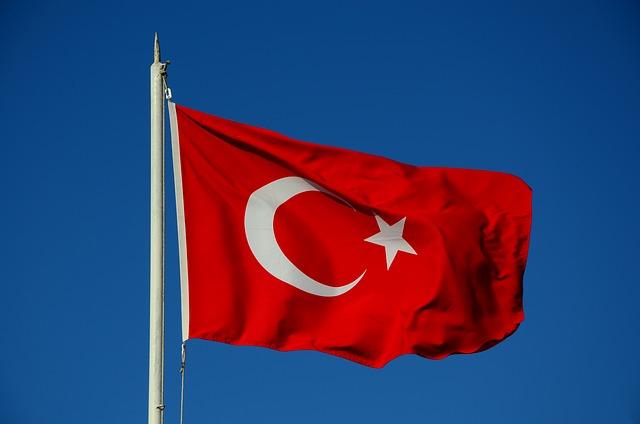 Turkey, Flag, Istanbul