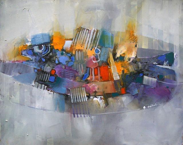 Burning Fish, Oil, It, Canvas 2017