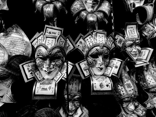 Venice, Masks, Carnival, Italia