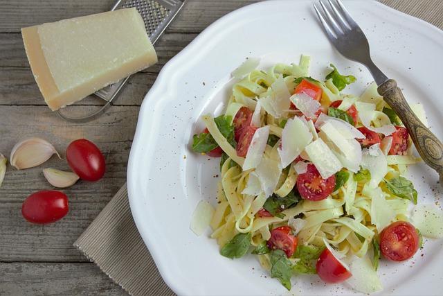Pasta, Noodles, Parmesan, Tomatoes, Italian, Eat, Cook