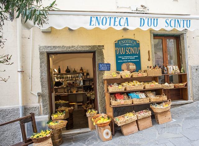 Europe, Italy, Storefront, Fruit, Food, Italian, Store