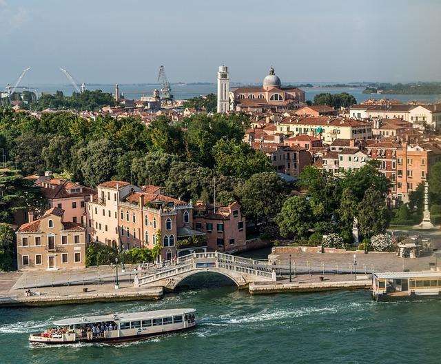 Venice, Italy, Canal, Bridge, Architecture, Boat