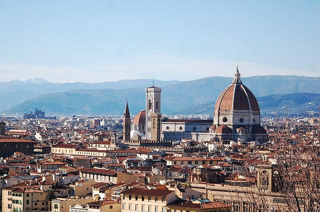 Italy, Florence, Architecture, View, City, Tour, Italia