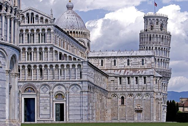 Architecture, Pisa, Building, Italy, Travel, Tourism